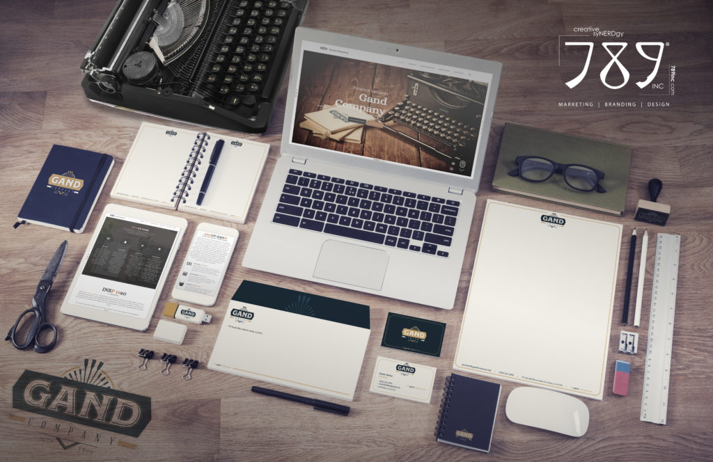 Branding, Accounting, Logo, Identity Set, Finance, Human Resources